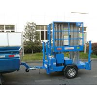 China Aluminium Alloy Trailer Mounted Aerial Work Platform wholesale