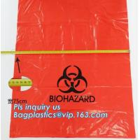 China 8-10 Gallon Medical Waste Trash Bags Compostable Biohazard Waste Bags Infectious Waste Basure Infecciosa Bags, bagplasti wholesale