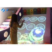 China 220V Interactive Floor Projector Slide 30 Games Infrared Detector with 1 Camera wholesale