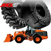 China Wheel Loader Solid Tire for Hitachi Vehicle 15.5-25, 17.5-25, 20.5-25, 23.5-25, 26.5-25, 29.5-25, 35/65-33 wholesale