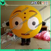 China Oxford Inflatable Balloon Costume Moving QQ Cartoon Inflatable Customized wholesale