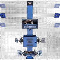 China 3D Car 4 Wheel Alignment Machine , Automatic Precision Wheel Alignment Balancing Machine wholesale