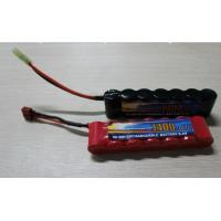 Buy cheap High Power Discharge Typ 8.4V 1600 mAh  Airsoft Gun Battery / Rechargeable NIMH AA Batteries product