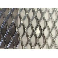 China Galvanized Expanded Metal Screen Mesh Stainless Steel Diamond Hole Shape Customized wholesale