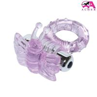 China Environment Friendly 7 Speed Butterfly Vibrating Cock Ring With CE ROHS Aprrove wholesale