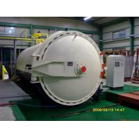 China Glass laminating autoclave with automatic PLC control system and high quality wholesale