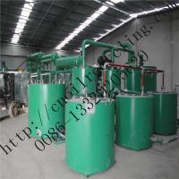 China ZSA-3 China waste oil vacuum distillation recycling base oil machine wholesale