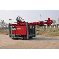 China Self propelled on track water Well Drilling Rig 97KW / 420 mm Drilling Hole with hydraulic system wholesale