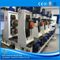 China Full Automatic Tube Mill Equipment Directly Forming PLC Control ISO9001 wholesale