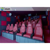 China 5D Cinema System SGS Certificated With Linearly Polarized Glasses And Emergency Stop Button wholesale