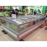 China Seafood Supermarket Island Freezer -20°C  Low Temperature Bitzer Compressor wholesale