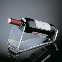 China Crystal Acrylic Wine Food Display Trays Retail Shop Custom With Handle wholesale