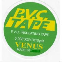 Quality VENUS Corrosion Proof PVC Electrical Insulation Tape High Pressure-resistance for sale