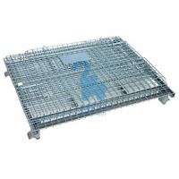 China Heavy Duty Collapsible Wire Mesh Storage Cages For Metal Tools wholesale