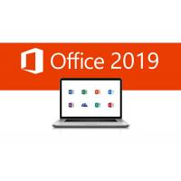 China 4 GB RAM Microsoft Office 2019 Key Code Pro Plus Key Retail Box For One PC/MAC wholesale