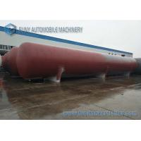 Buy cheap ASME 200M3 overground horizontal type cylinder LPG storage tank from wholesalers