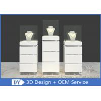 China Contemporary MDF Jewelry Display Stand / Jewelry Display Cabinet wholesale