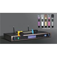 China UHF Professional Dual Channels Wireless Microphone System karaokes stages shows wireless microphone on sale