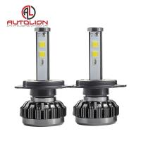 China 36w 3800lm LED Car Headlight Bulb / Auto Driving Lights 360 Degree 7 Colors wholesale