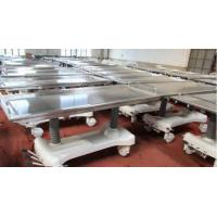 Quality Stainless Steel Mortuary Equipment Top Hydraulic Embalming Table Adjustable for sale