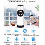 EC2 Mini 180° Panorama Camera Wireless WIFI P2P IP Night Vision Home Security