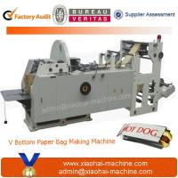 China LMD-400 Automatic High Speed Sharp Bottom Paper Bag Machine on sale