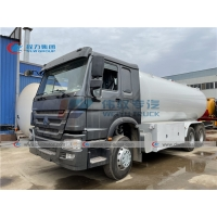 China Dongfeng 20m3 10 Ton Mobile Cylinder Filling Bobtail Delivery Truck wholesale