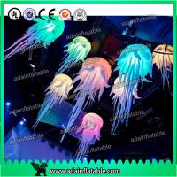 China Party Decoration Hanging Inflatable Jellyfish With Lighting wholesale