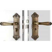 Quality High Hardness Room Mortise Door Lock Antique Bronze Zinc Alloy Entracne Handle for sale