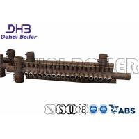 China Gas Fired Steam Boiler Manifold Headers , Boiler Spares Horizontal High Low Pressure wholesale