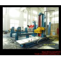China Automatic End Face Milling Machine 6KW 1200mm * 1500mm for H Beam / Box Beam Line wholesale