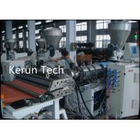 China 2016 High-Quality High Density PVC Half-crust Foamed Board Production Line wholesale