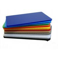 China High Strength Light Weight Polypropylene Hollow Sheet Correx Board For Industrial / Packing wholesale