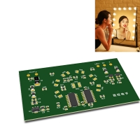 China Hotel Make Up Mirror Lamp Cold Light 4.5W LED PCB Assembly wholesale