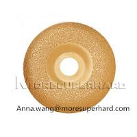 China Vacuum Brazed Diamond Grinding Disc For Grinding Marble, Ceramic Materials wholesale
