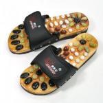 China Pebble massage slippers / foot care shoe - black (43 yards) wholesale