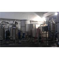 China Automatic Forced Circulation Climbing Film Evaporator Fit Multi Effect Evaporation Plant wholesale