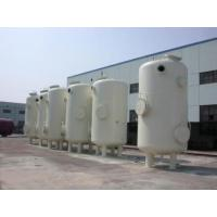 China Custom Vertical Vacuum Receiver Tank , Stainless Steel Vacuum Storage Tanks on sale