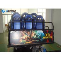 China Mobile Amusement 5D Moving Theater , Hydraulic System 5D Cinema Equipment wholesale