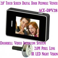 "China 2.8"" LCD Screen Digital Peephole Viewer Doorbell Video Camera Recorder Access Control DVR wholesale"