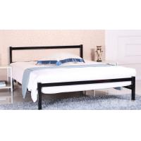 China Easy Assembly Metal Frame Bed / Modern Bedroom Furniture Steel Material wholesale