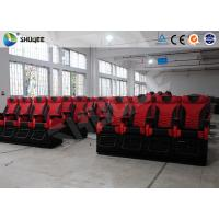 China Electronic System 4D Movie Theater Big Screen With Snow Bubble Rain Fire wholesale