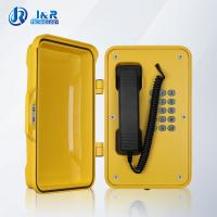 China VOIP/SIP Hazardous Area Telephones , Heavy Duty Weatherproof Telephone with black curly cord wholesale