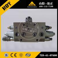 China Brand new PC200-7 service valve 723-41-07400, Komatsu excavator spare parts wholesale