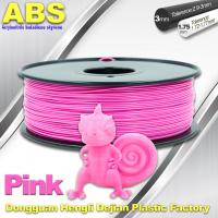 China 1767C Pink Plastic Filament For 3D Printing Consumables Filament wholesale