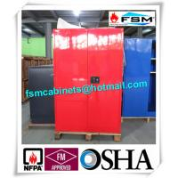 China Chemical Safety Paint Storage Cabinets Double Doors For Hazardous Material wholesale