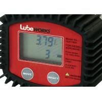 Quality High Accuracy 30 Liter Digital Oil Meter With Low Battery Indicator / Liquid for sale