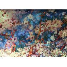 Buy cheap Peach Blossom Polyester Velvet Fabric / Printed Velvet Fabric Cushion Use from wholesalers