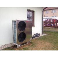 China Air Source Chiller Air To Water Heat Pump , EVI Air Source Heat Pump 18kw WIFI Control wholesale