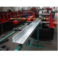 China Custom Made C / Z Shape Automatic Changable Purlin Roll Forming Machine Hydraulic Punching Hole wholesale